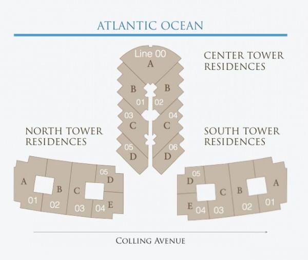 St Regis Bal Harbour Key Floor Plan