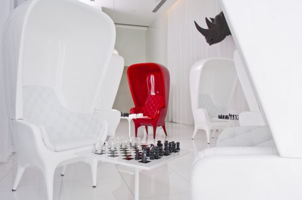 Icon Brickell Chess Room