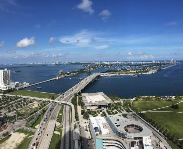 Marquis Miami NE view