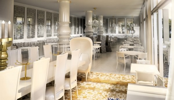 Mondrian Hotel Residences restaurant