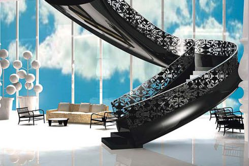 Mondrian Hotel Residences Stair