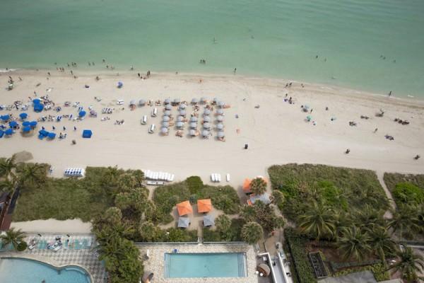 Sole on the Ocean Beach View