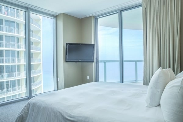 Sole on the Ocean Master Bedroom 1
