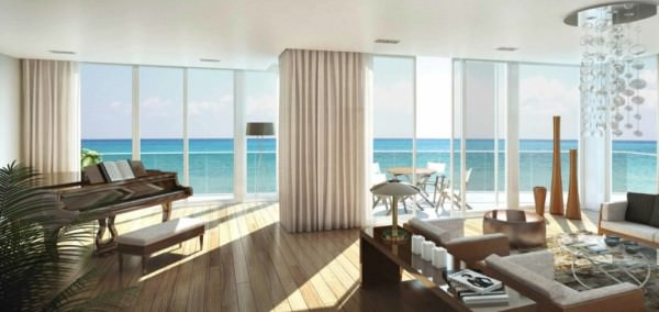 Apogee Beach Living-room
