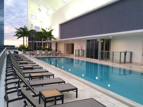 Brickell House Rooftop Pool 1