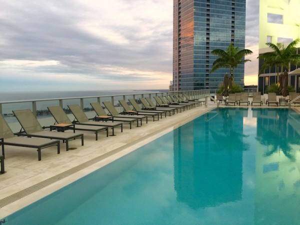 Brickell House Rooftop Pool 2