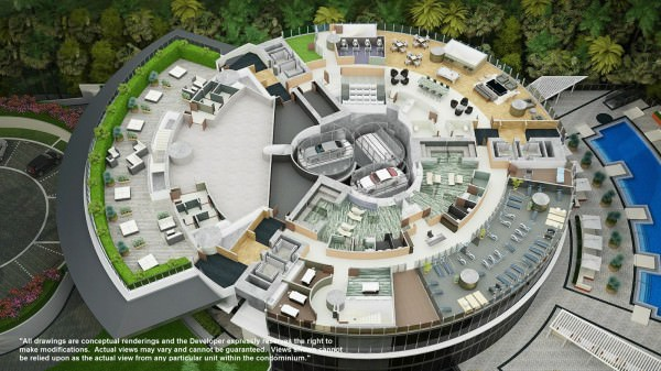 PDT amenities plan
