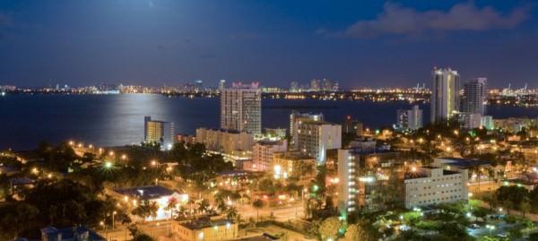 Midtown east night view
