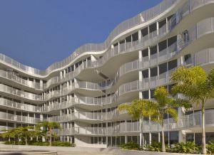 Artecity Building Cortyard