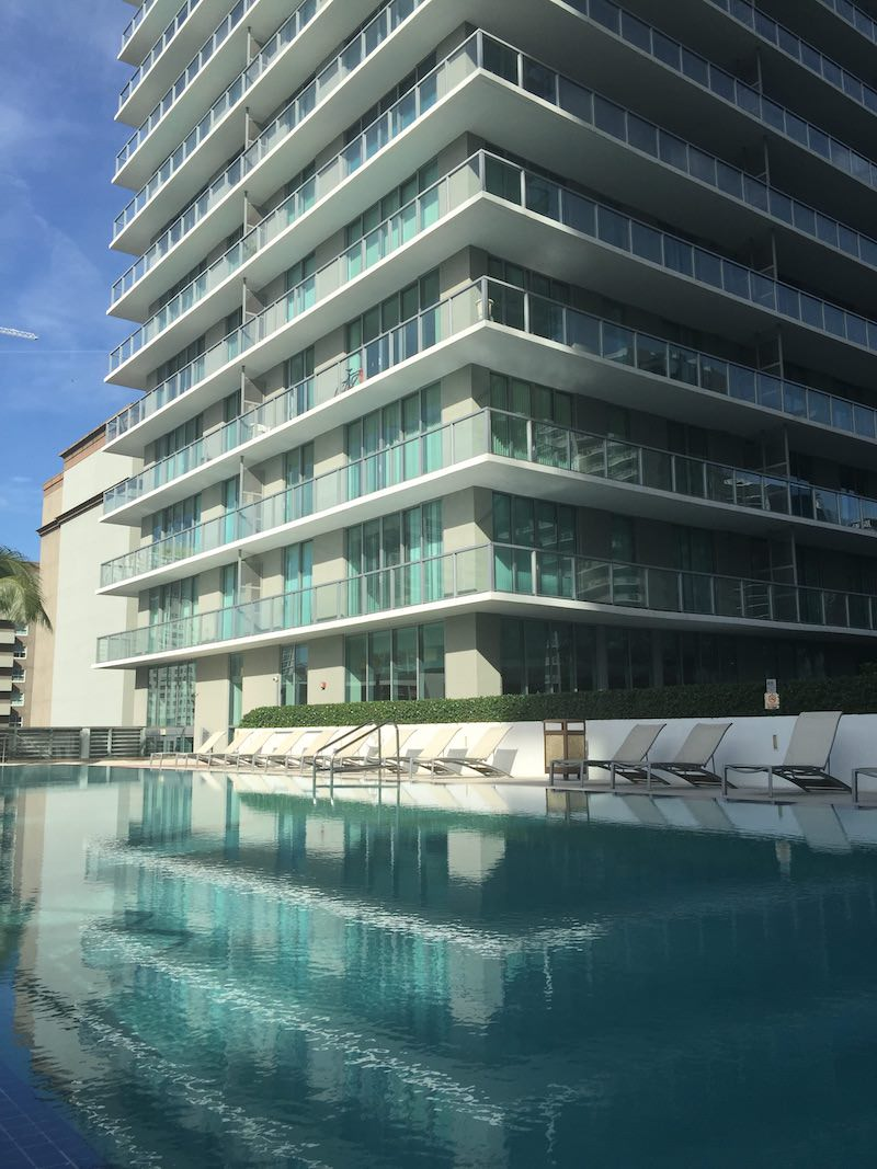 Axis Brickell pool