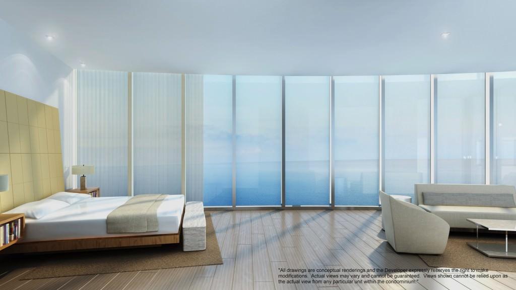 Extra wide bedrooms