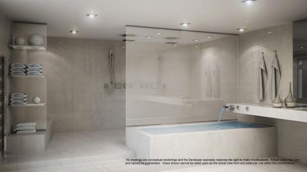 Porsche Design Tower Light Bathroom