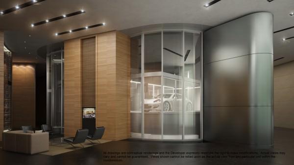 Porsche Design Tower Lobby 4