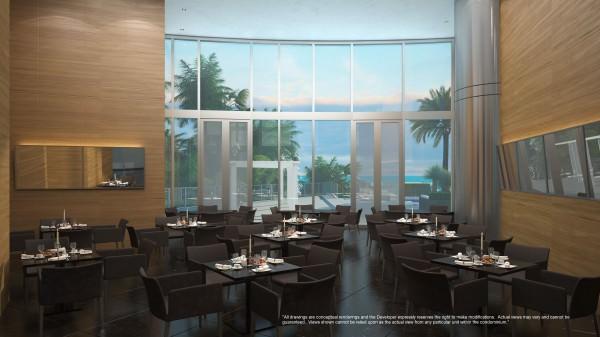 Porsche Design Tower Restaurant