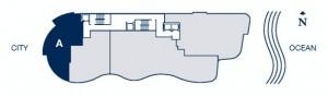 Chateau Beach Floor Plan A