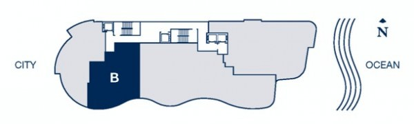 Chateau Beach floor plan B