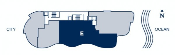 Chateau Beach floor plan E