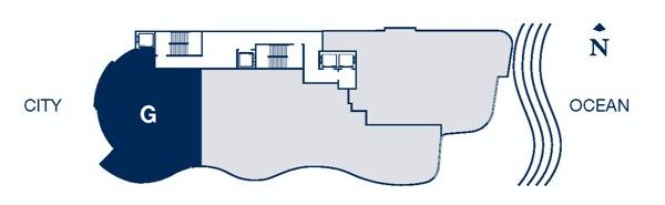 Chateau Beach Key plan G