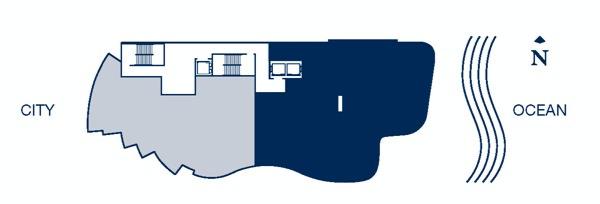 Chateau Beach Key plan I