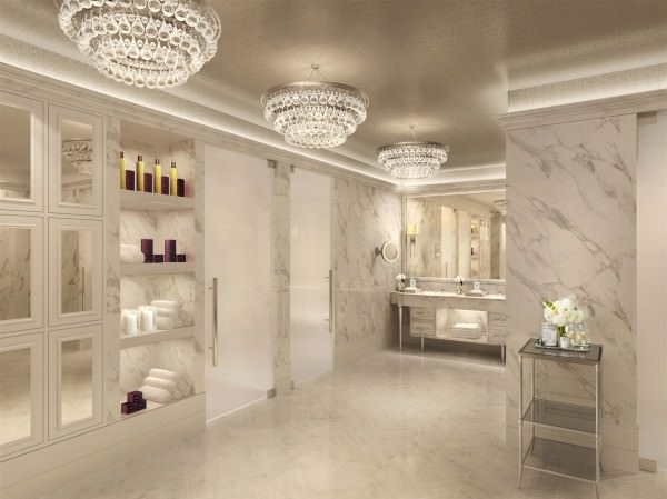 Woman spa with featured treatments and care