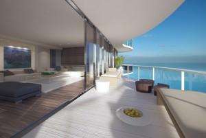 Regalia Sunny Isles Beach Balcony