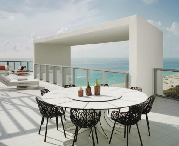 W South Beach Penthouse rooftop