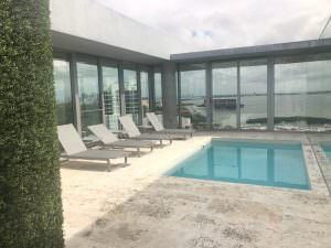 Grove at Grand Bay Penthouse rooftop pool