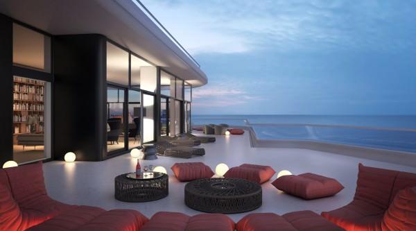 Faena House Balcony lifestyle