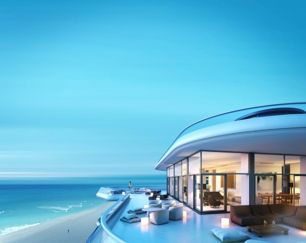 Faena House Penthouse ocean view