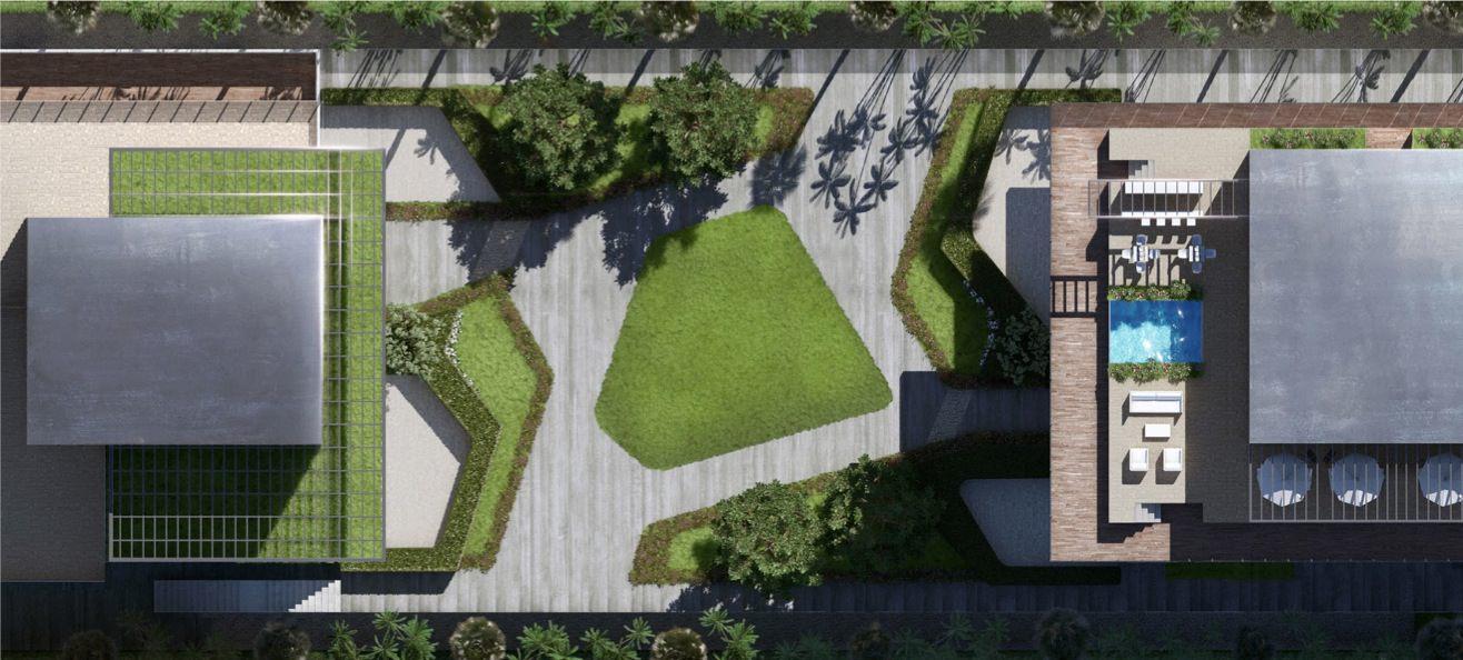 321 Ocean Drive Garden by D-Box