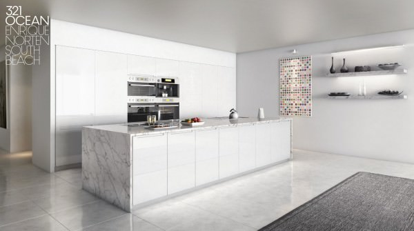 321 Ocean Drive Kitchen by D-Box