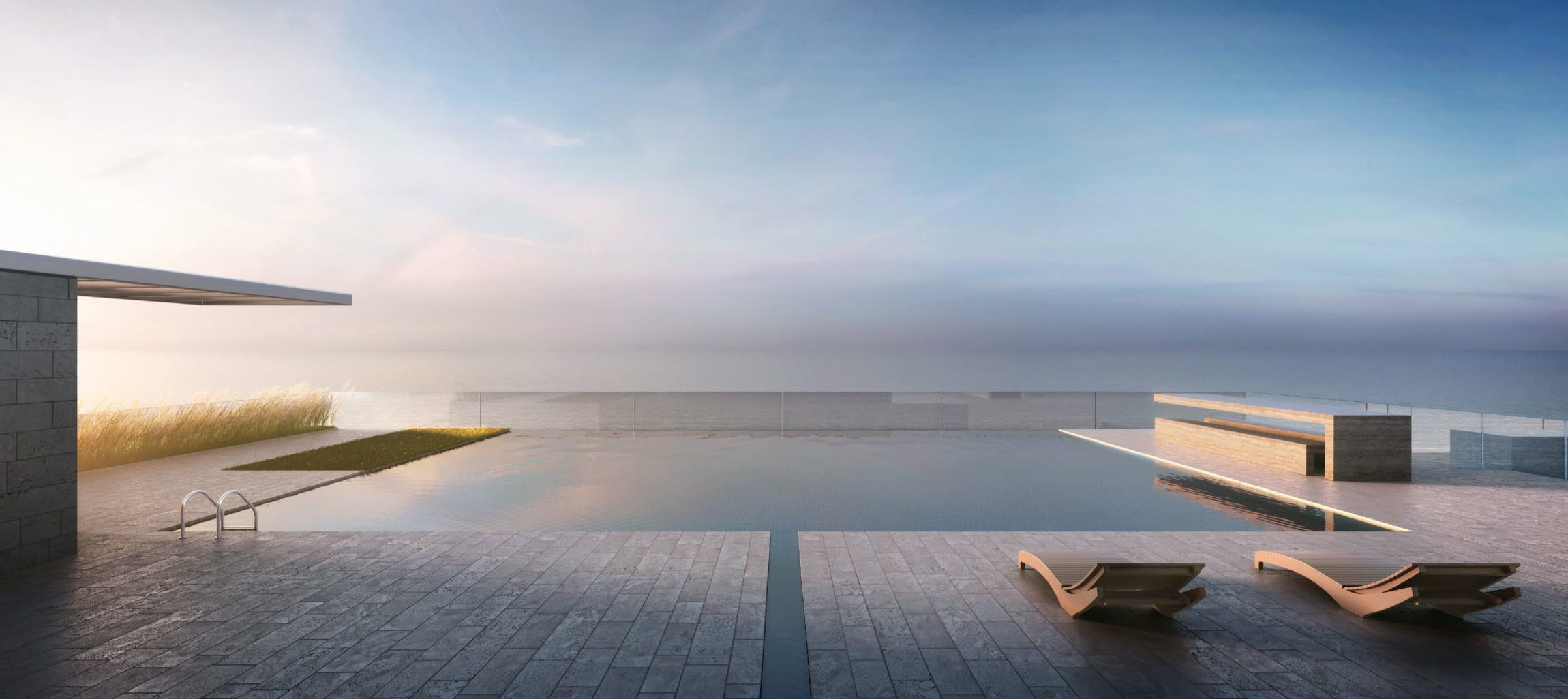 321 Ocean Drive rooftop pool by D-Box