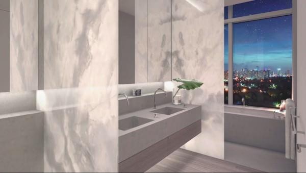 Edition Residences Miami Beach Bathroom