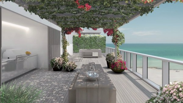 Edition Residences Miami Beach Private Terrace