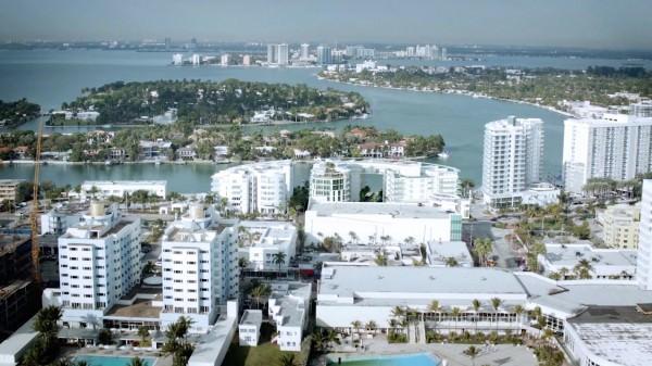 Peloro Miami Beach Building West view