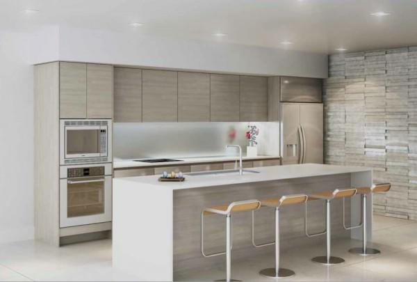 Peloro Miami Beach kitchen