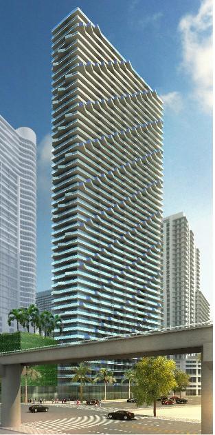 SLS Brickell - Building