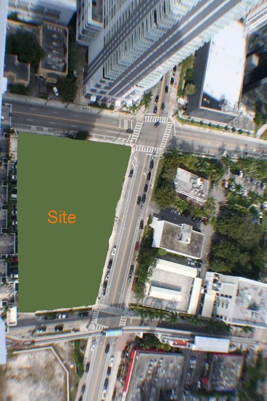 SLS Brickell site plan