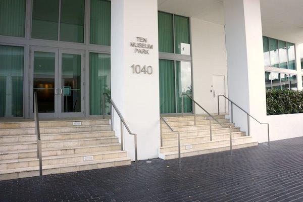 Ten Museum entrance
