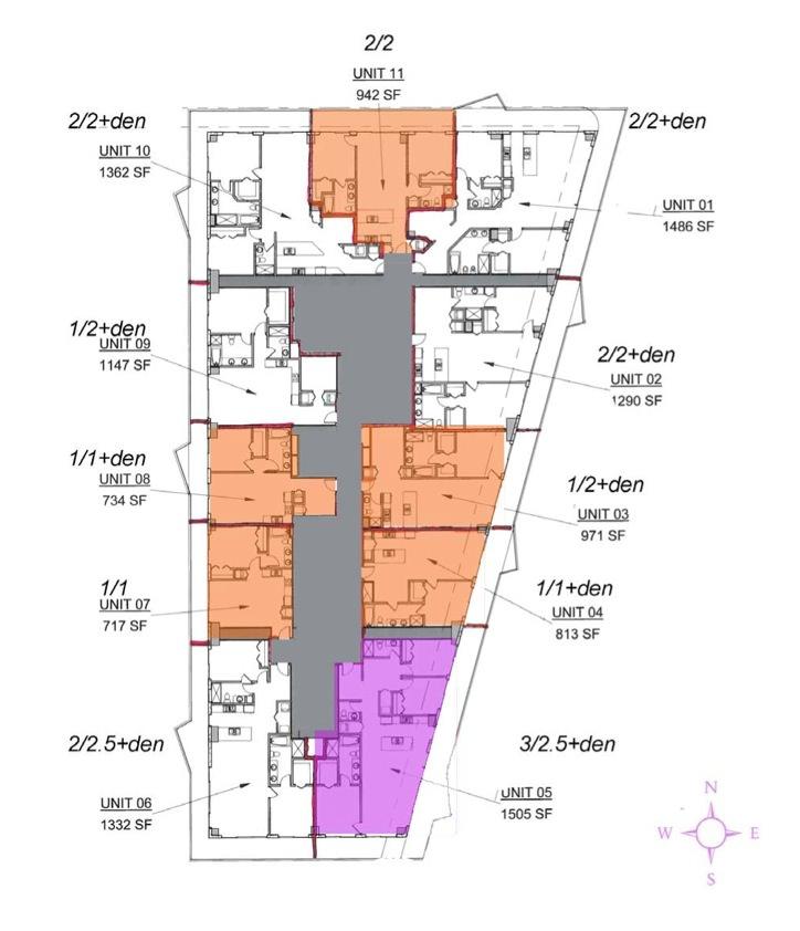 SLS Brickell site plan 2