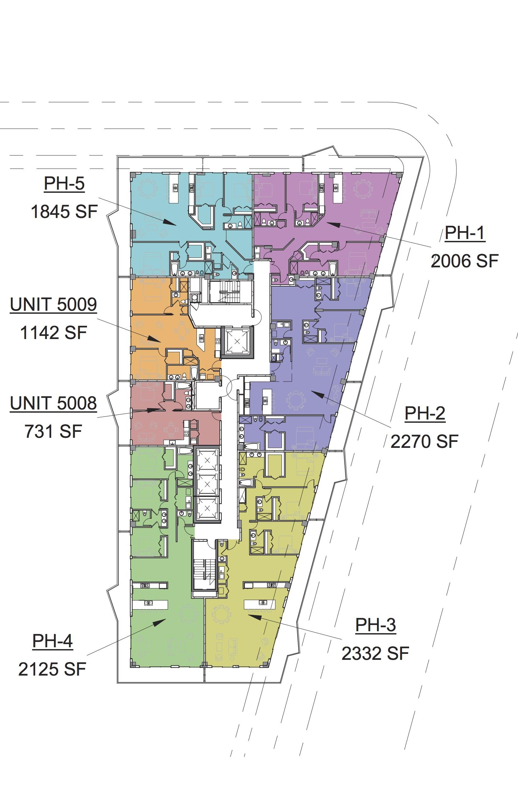 SLS Hotel and Residences Penthouse level