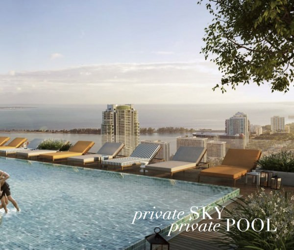 SLS Hotel and Residences Sky Pool