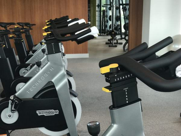 SLS Residences Brickell Gym 1207