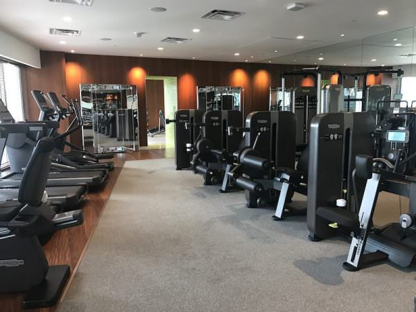 SLS Residences Brickell Gym 1213