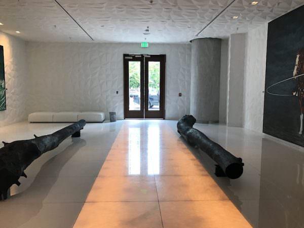 SLS Residences Brickell Lobby 1