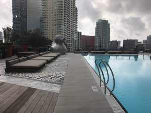 SLS Residences Brickell Pool 1190
