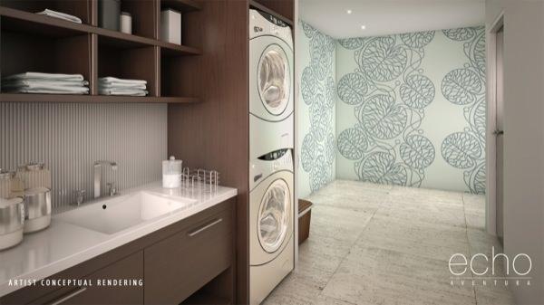 Echo Aventura laundry
