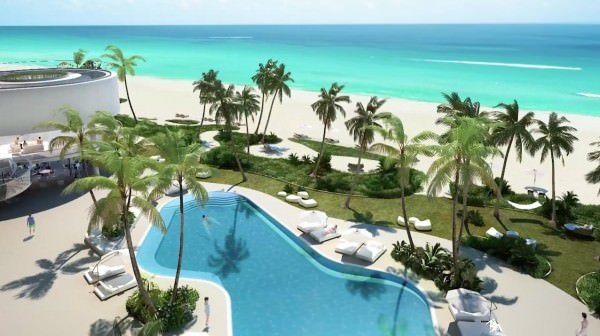 Jade Signature Condo Pool and Beach