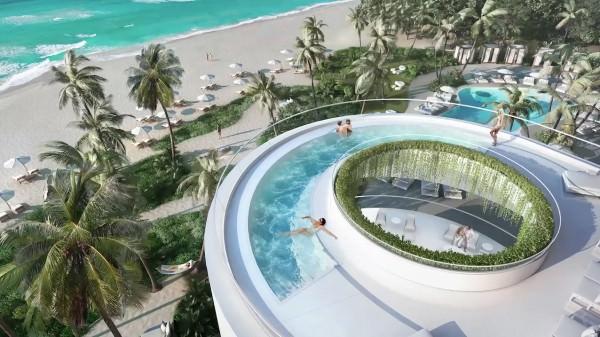 Jade Signature Pool Upper level
