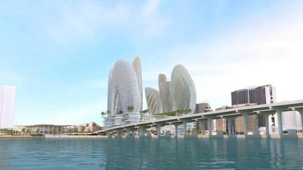 Resorts World Miami Building